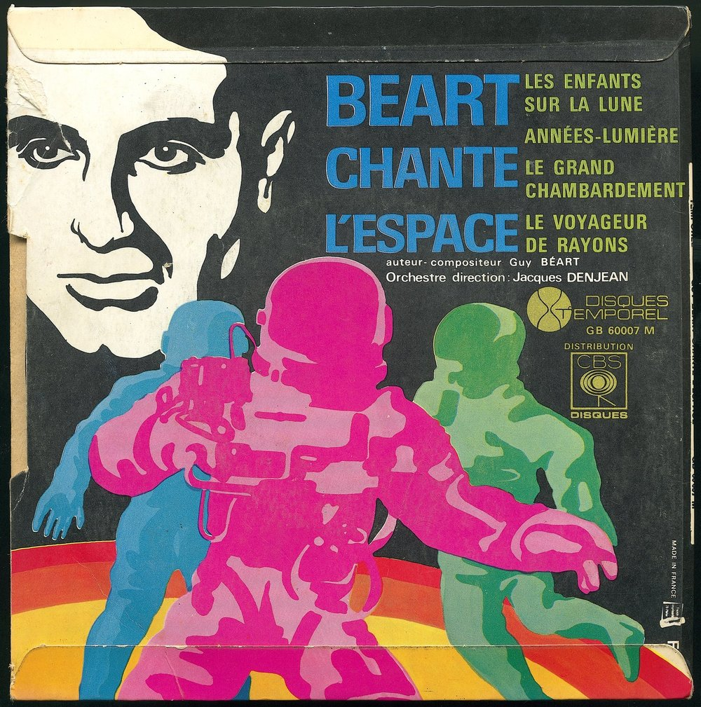 The B-side of Guy Béart Chante l'Espace.