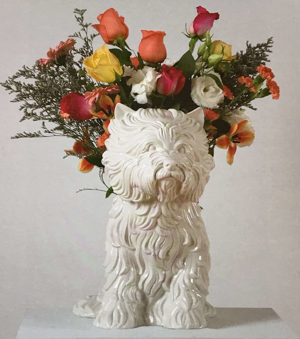 Jeff Koons.  Puppy  (1998)