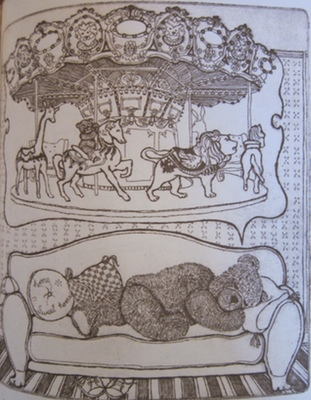 Teddy, by Enid Warner Romanek. (The illustrations are from etchings done on zinc plates on the artist's own etching press)