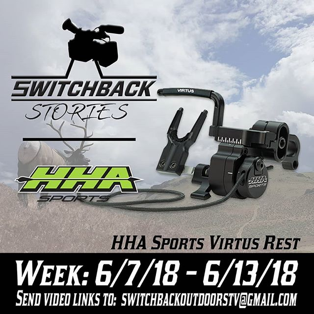 Switchback Stories 2.0 - send us a link to your video and we will choose one winner next week to win an @hhasports Virtus rest!  Swipe ----  for more info or click the link in our bio!! #switchbackstories #hhasports #huntingvideos