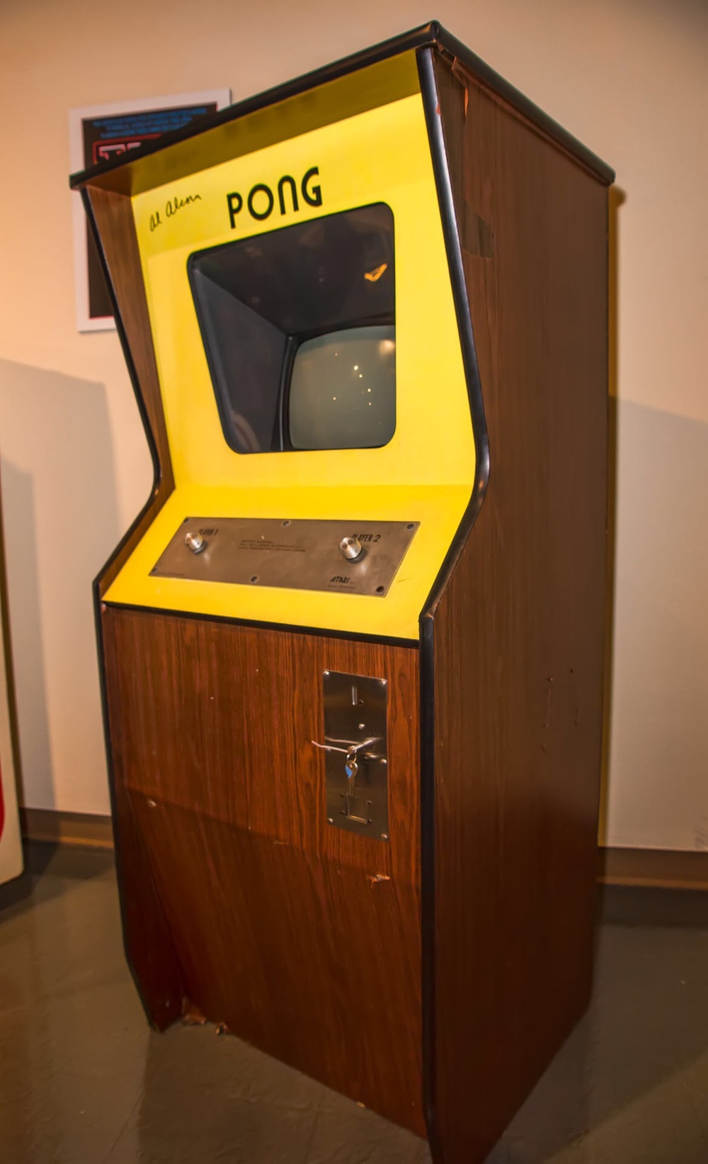 original archade game version of pong
