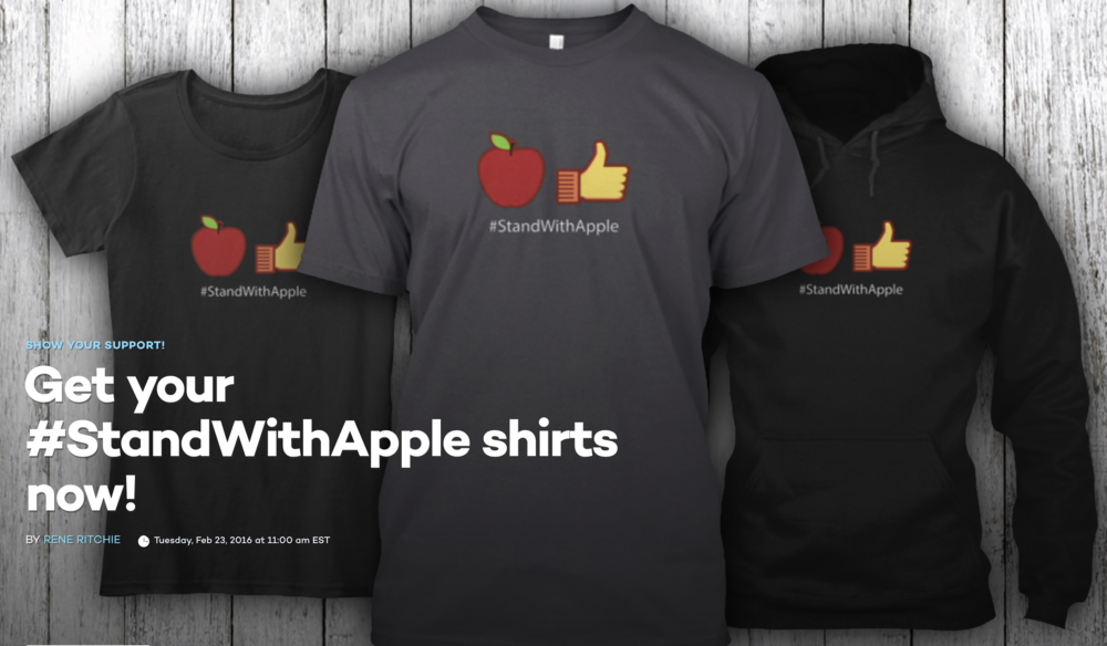 http://www.imore.com/stand-with-apple-shirt