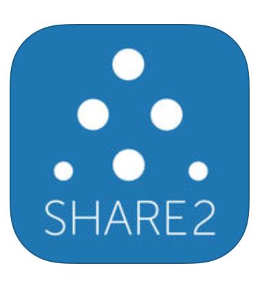 via App Store, Share2