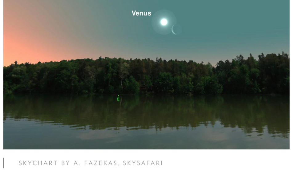 May 22  for Venus and Moon