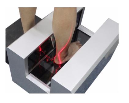 via  PreVolve.  Foot scanning to create custom Biorunners.