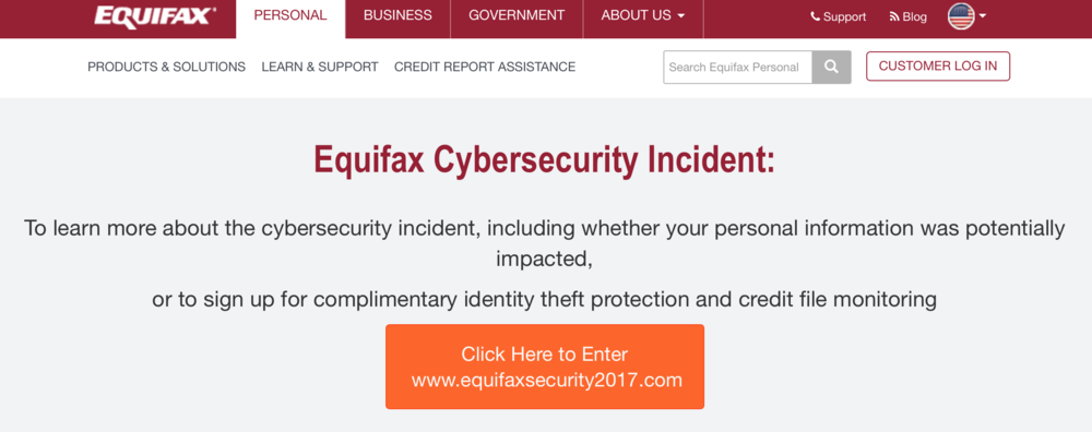 from  Equifax