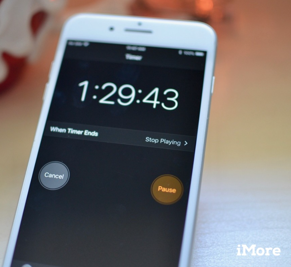 Timer setting from iMore