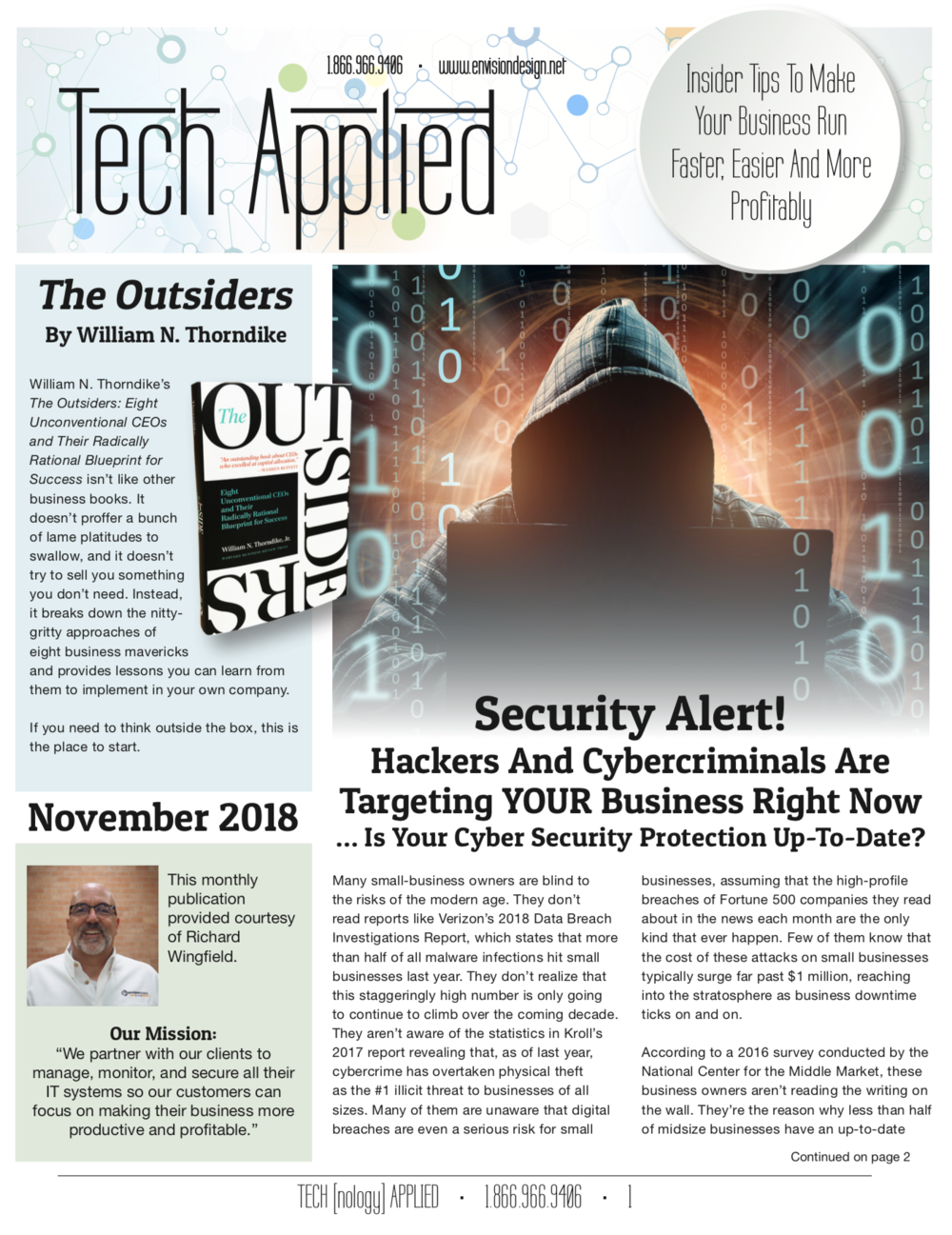 November 2018 - click on the image to download a free copy…