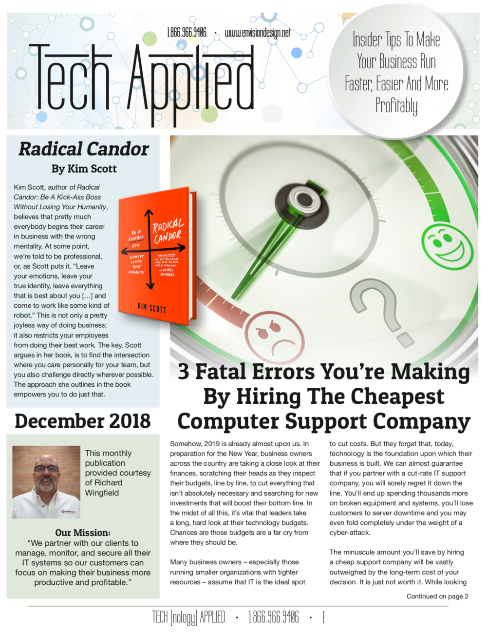 December 2018 - click on the image to download a free copy…