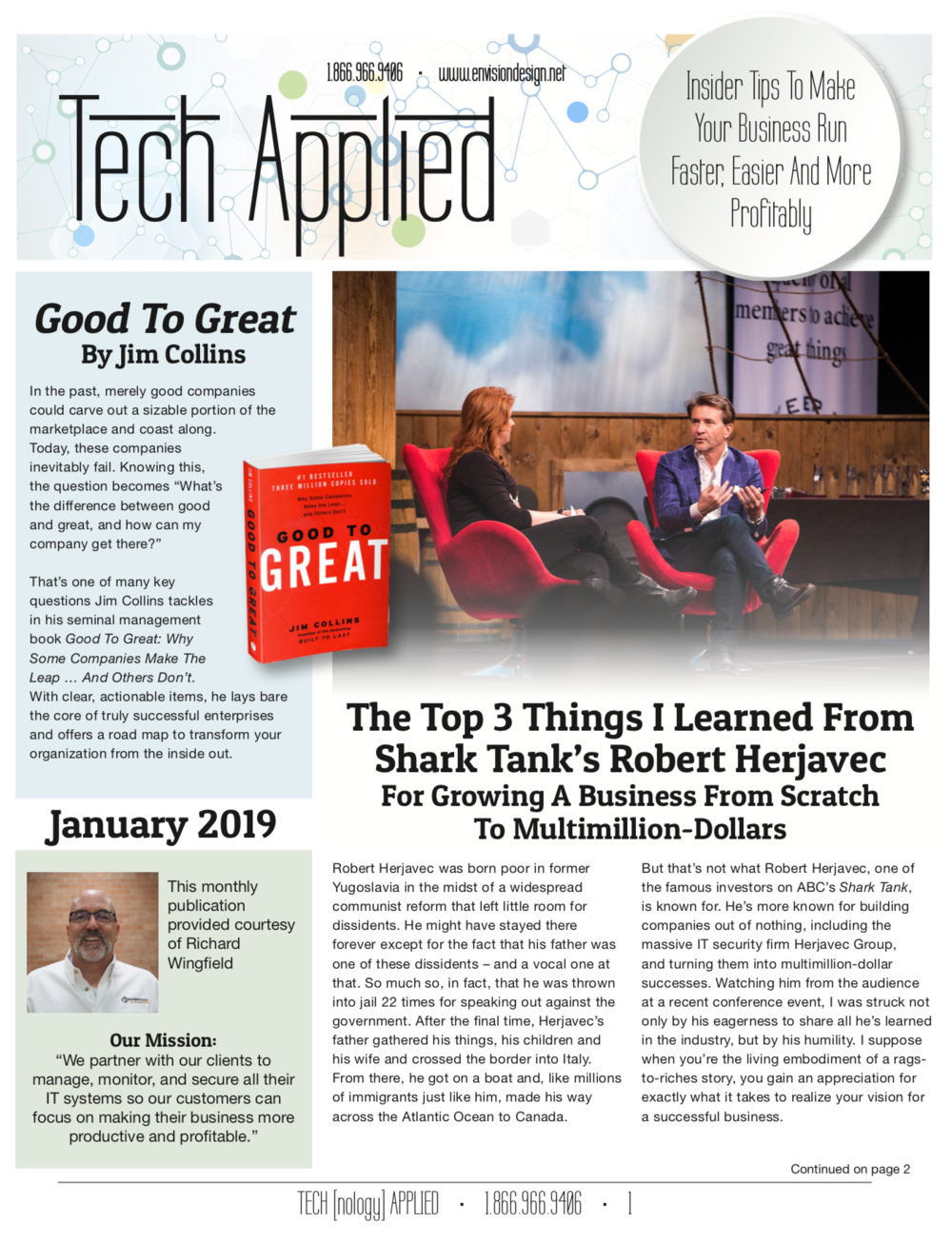 January 2019 - click on the image to download a free copy…