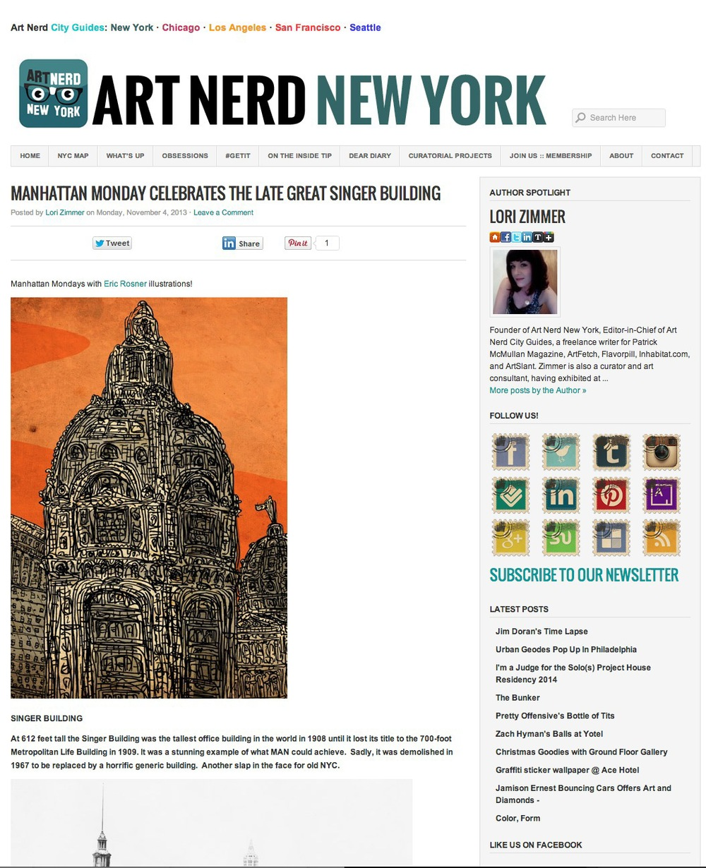 art nerd, new york city