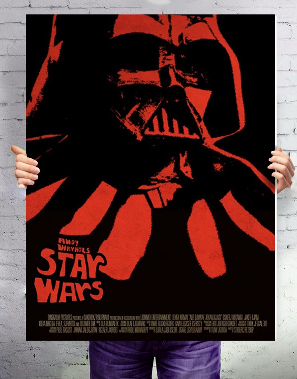 ANDY WARHOLS STAR WARS