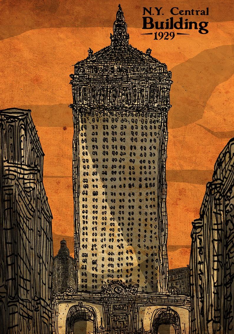 NY Central building