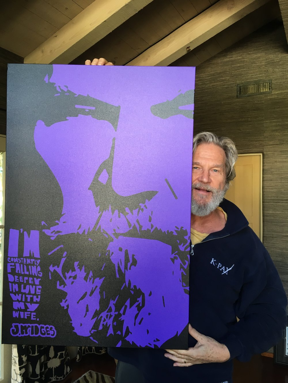 a piece that I did for Jeff Bridges