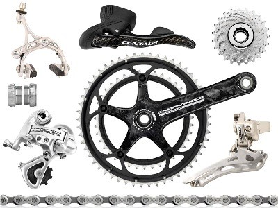 A Groupset is basically the moving parts on your bike.  The brake levers, brake callipers, crank, front chain rings, cassette, front and rear mechanisms, chain and your bottom bracket.
