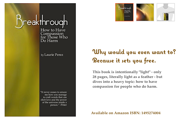 Explore the question > get the book: https://www.amazon.com/Breakthrough-Have-Compassion-Those-Harm/dp/1495274004