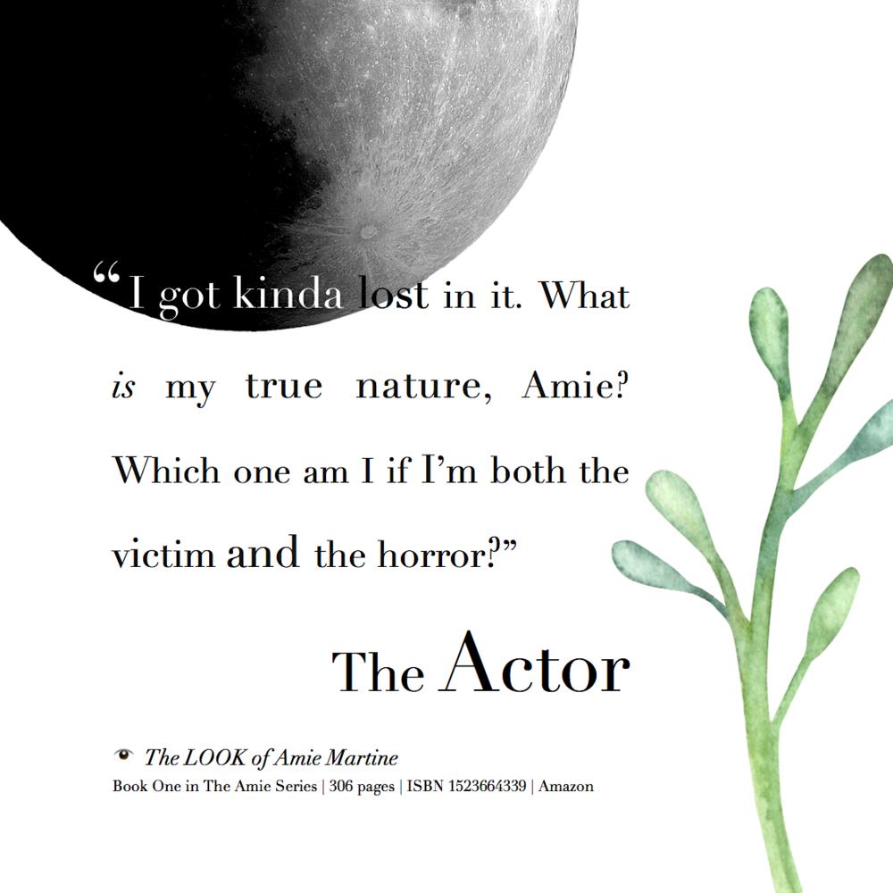 The Actor's dilemma