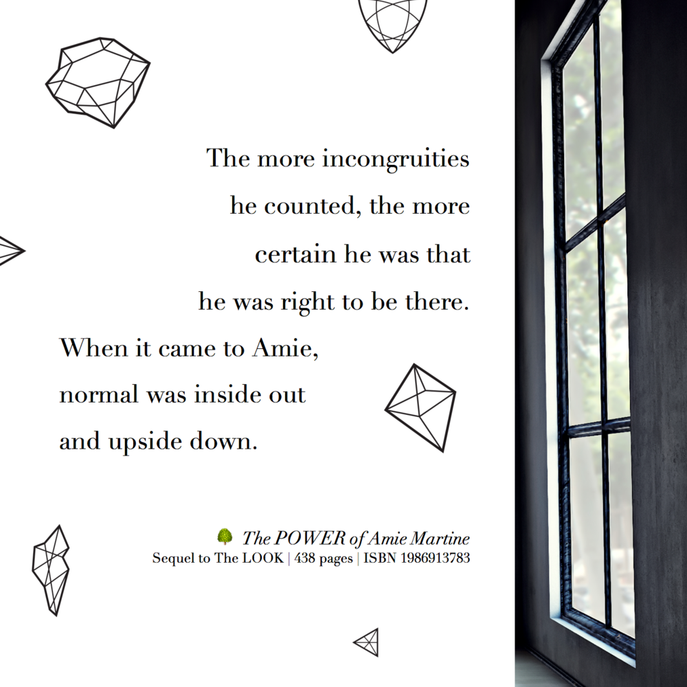 Incongruities: when it came to Amie, normal was inside out and upside down