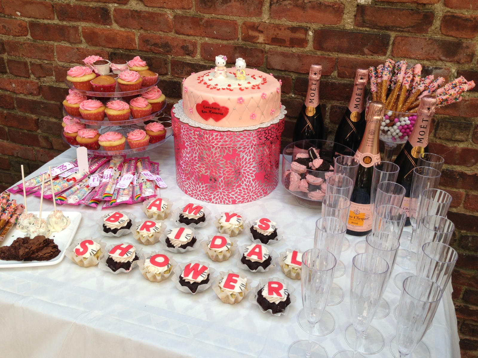 Hello Kitty Bridal Shower Filled With Sweets