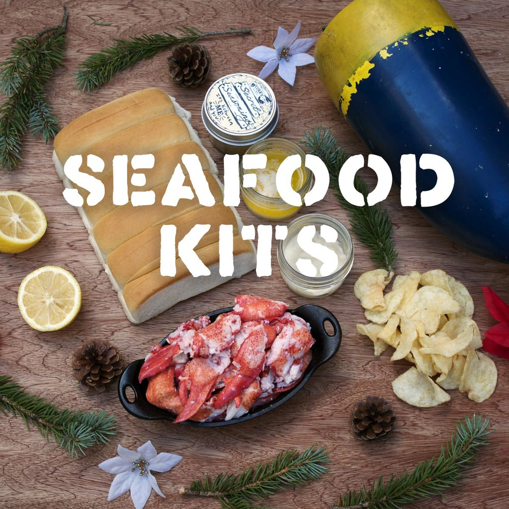 Seafood Kits Before our kits came around, you had to move to Maine, buy your own lobster boat, and catch your own to get seafood this fresh. Luckily, you can now order these bad buoys right to your front door.   **We currently are unable to ship internationally, but dreams do come true!