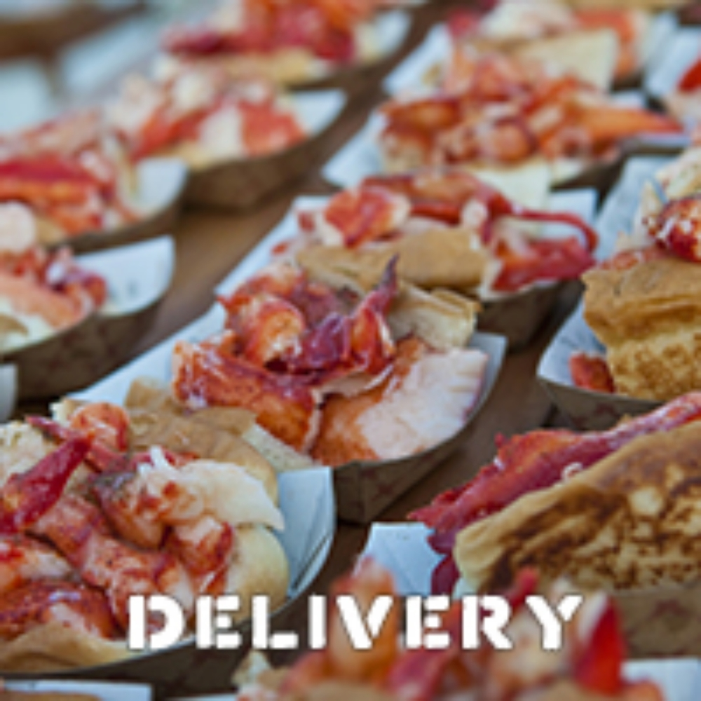 DELIVERY | MENU  Put together an order of $200 or more, and we'll deliver it to your door for no extra charge! Please contact us 24 hours in advance to verify availability. We can serve whole rolls or cut them into halves so your guests can sample everything.  NYC: email Anais at NYcatering@lukeslobster.com  or call her at 917-828-3463   DC: email Lilly at DCcatering@lukeslobster.com or call her at 301-801-6130  PHL: email Lizzy at PHLcatering@lukeslobster.com or call her at  267.844.1011.