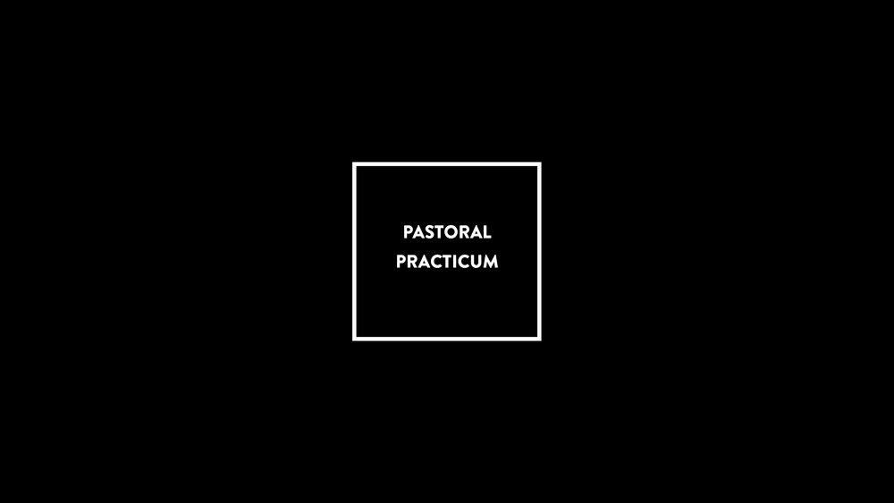 PREPARE TO PASTOR. -