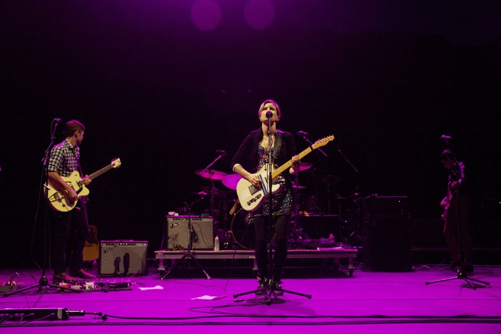Missy Higgins serenades the Red Rocks crowd (Photo credit: Maddie Casey)