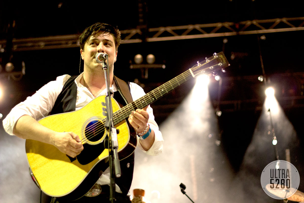 Marcus Mumford performing during SXSW 2012 (Photo credit: Robert Castro)