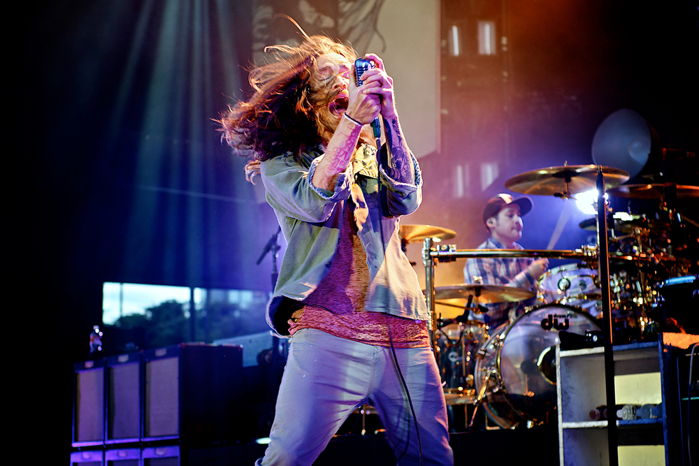 Brandon Boyd of Incubus ( Photo credit: Robert Castro)
