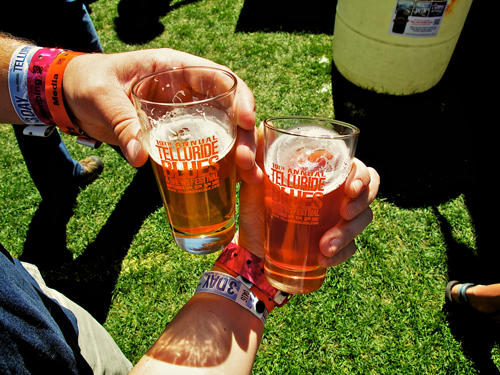 Beer tasting (Photo Credit: Amanda Spilos)