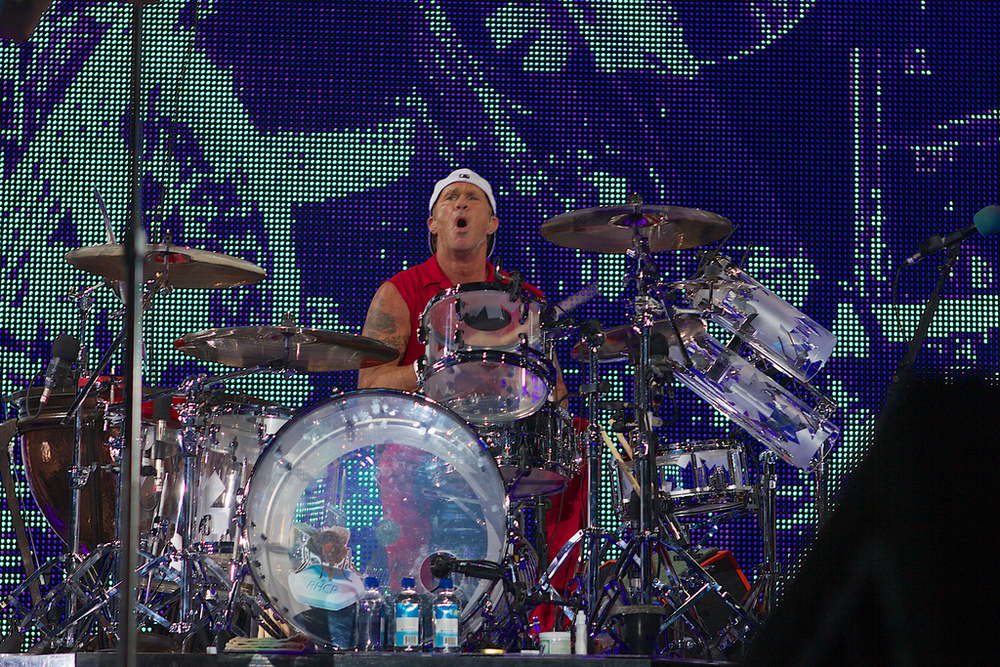 Chad Smith or Will Ferell..you decide? (Photo Credit: Robert Castro)