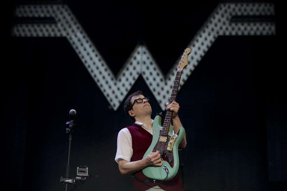 Rivers Cuomo of Weezer (Photo Credit: David Mead)