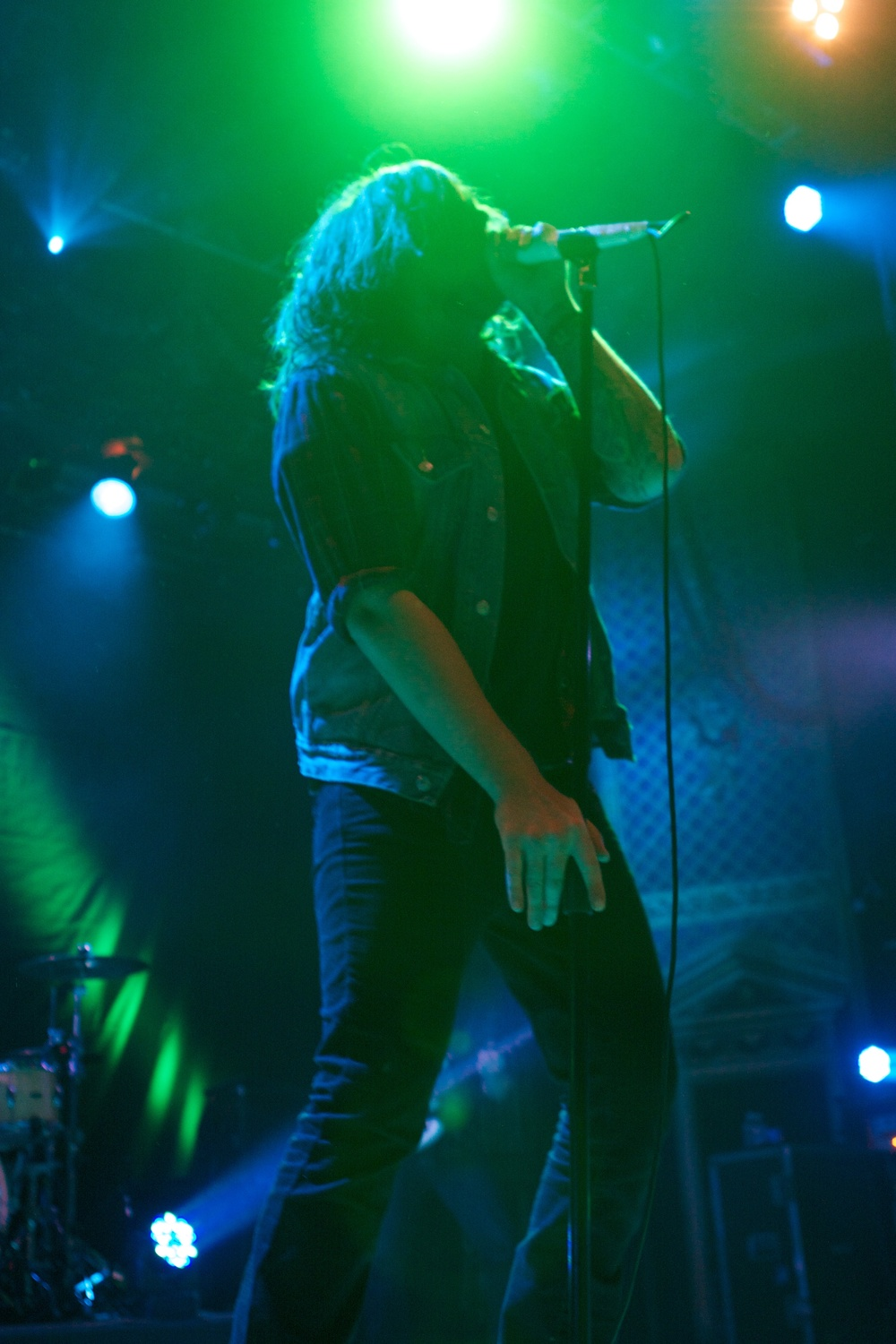 Adam Lazzara of Taking Back Sunday (Photo Credit: Matt Smith)