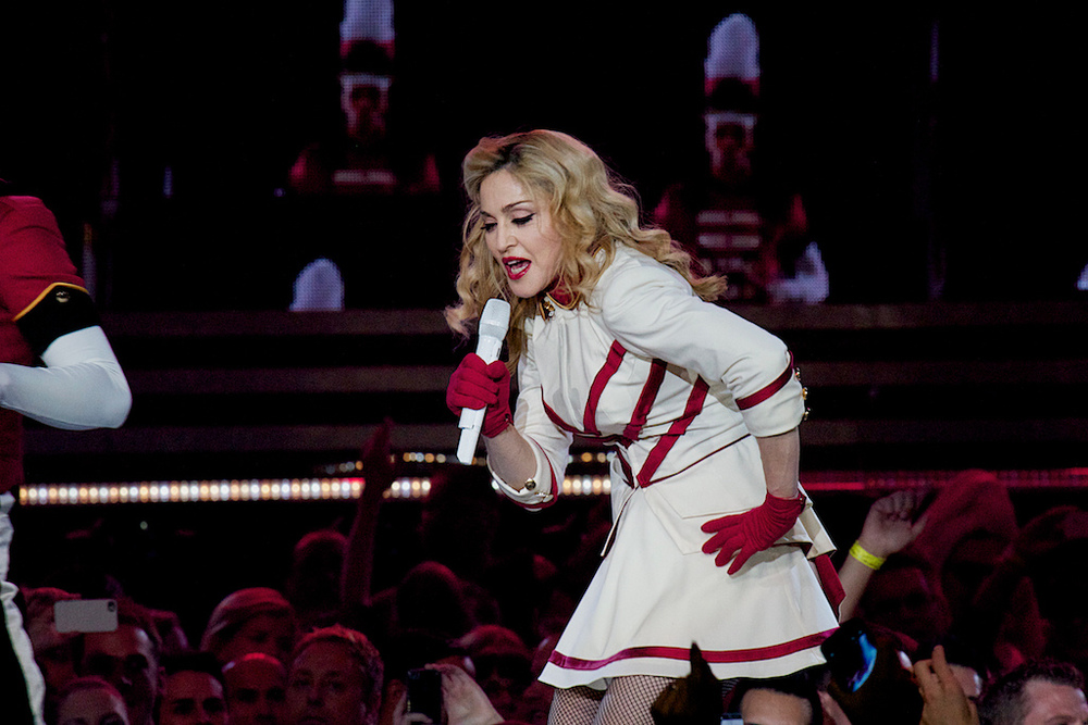 Even at 54 years old, Madonna still knows how to put on a show. (Photo Credit Robert Castro)