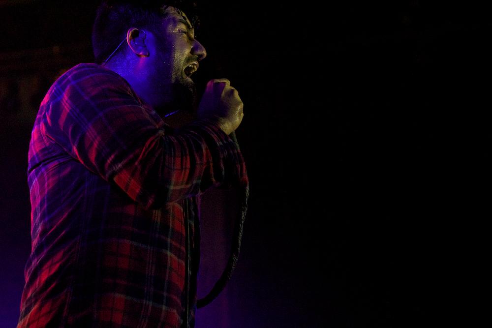 Chino Moreno of Deftones (Photo Credit: Robert Castro)