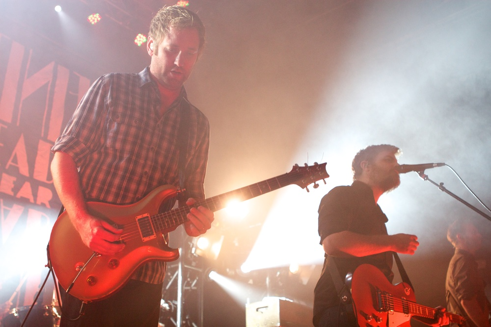 Minus The Bear (Photo Credit: Matt Smith)