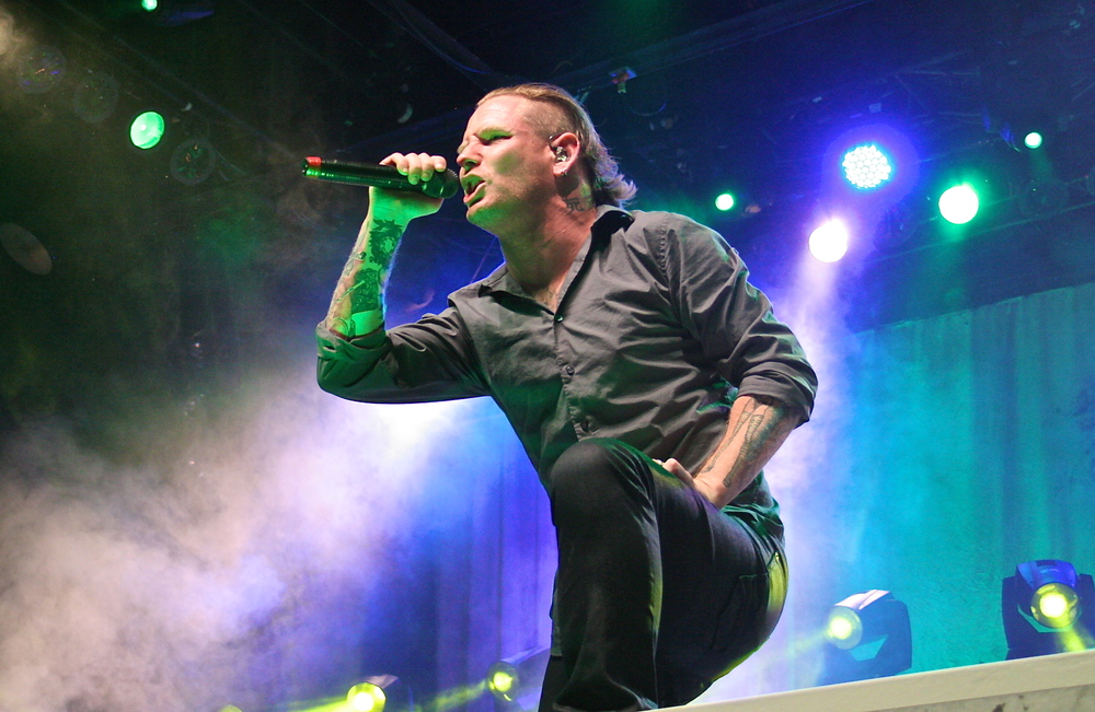 Corey Taylor of Stone Sour (Photo Credit: David Burke)