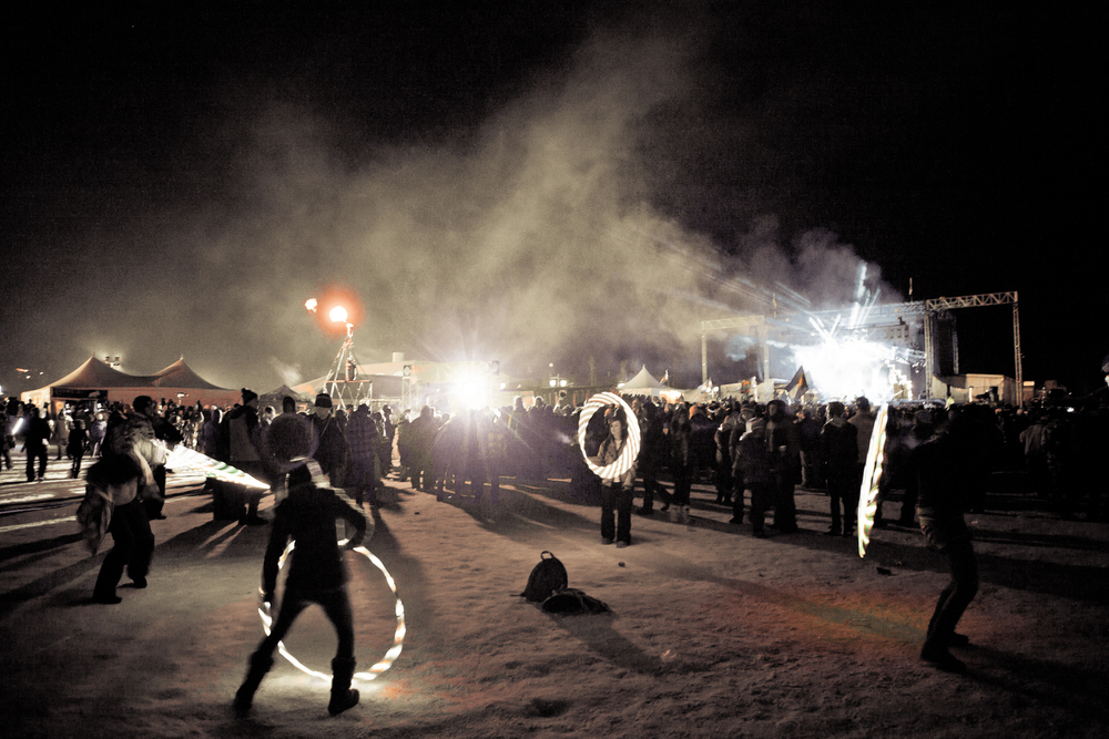 Great music, great times at Snowball Music Festival (Photo Credit: Blake Gavaldon)