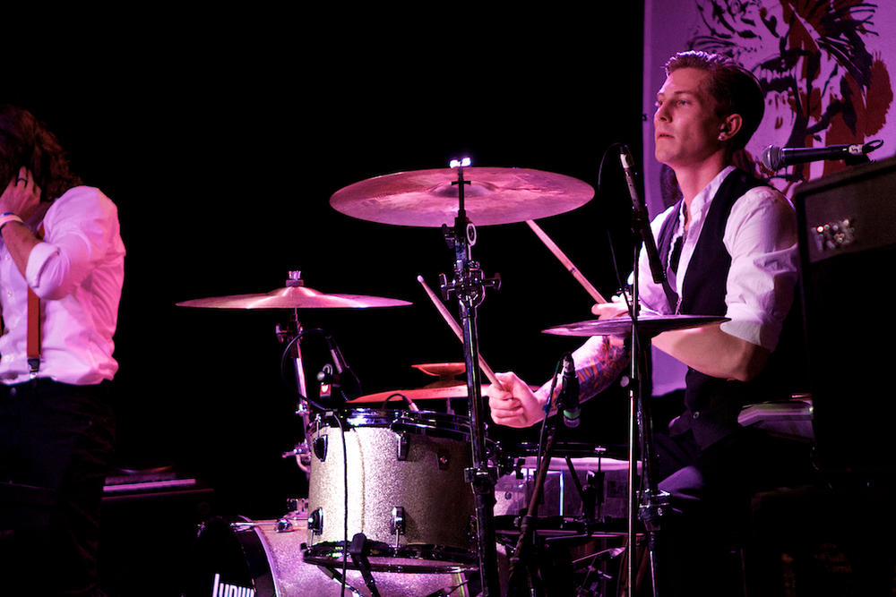Drummer Lucas Gordon (Photo Credit: Robert Castro)