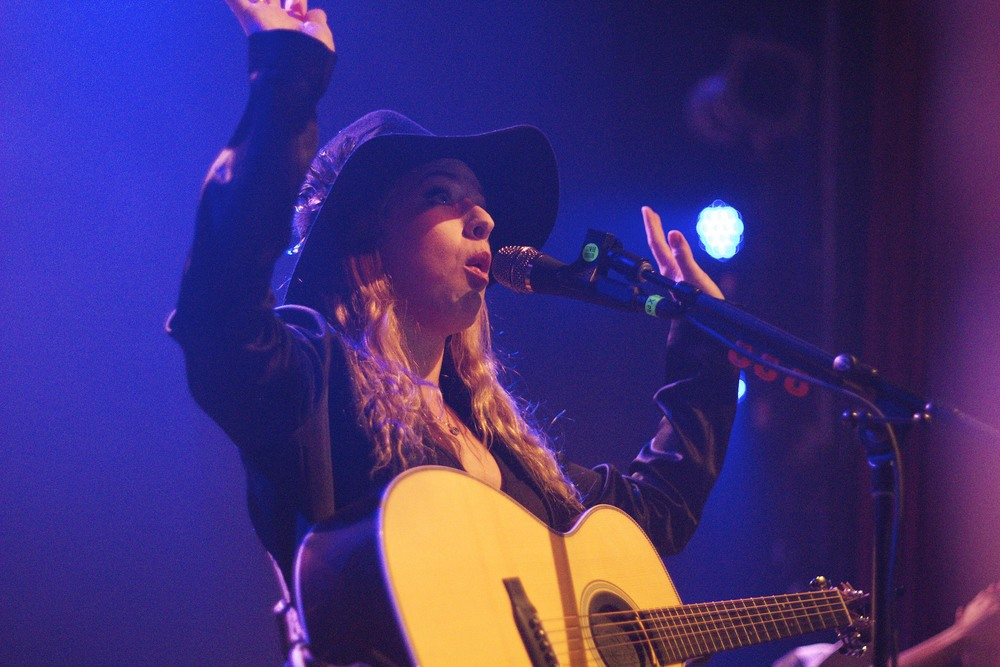 ZZ Ward performing at The Gothic (Photo Credit: Maddie Casey)