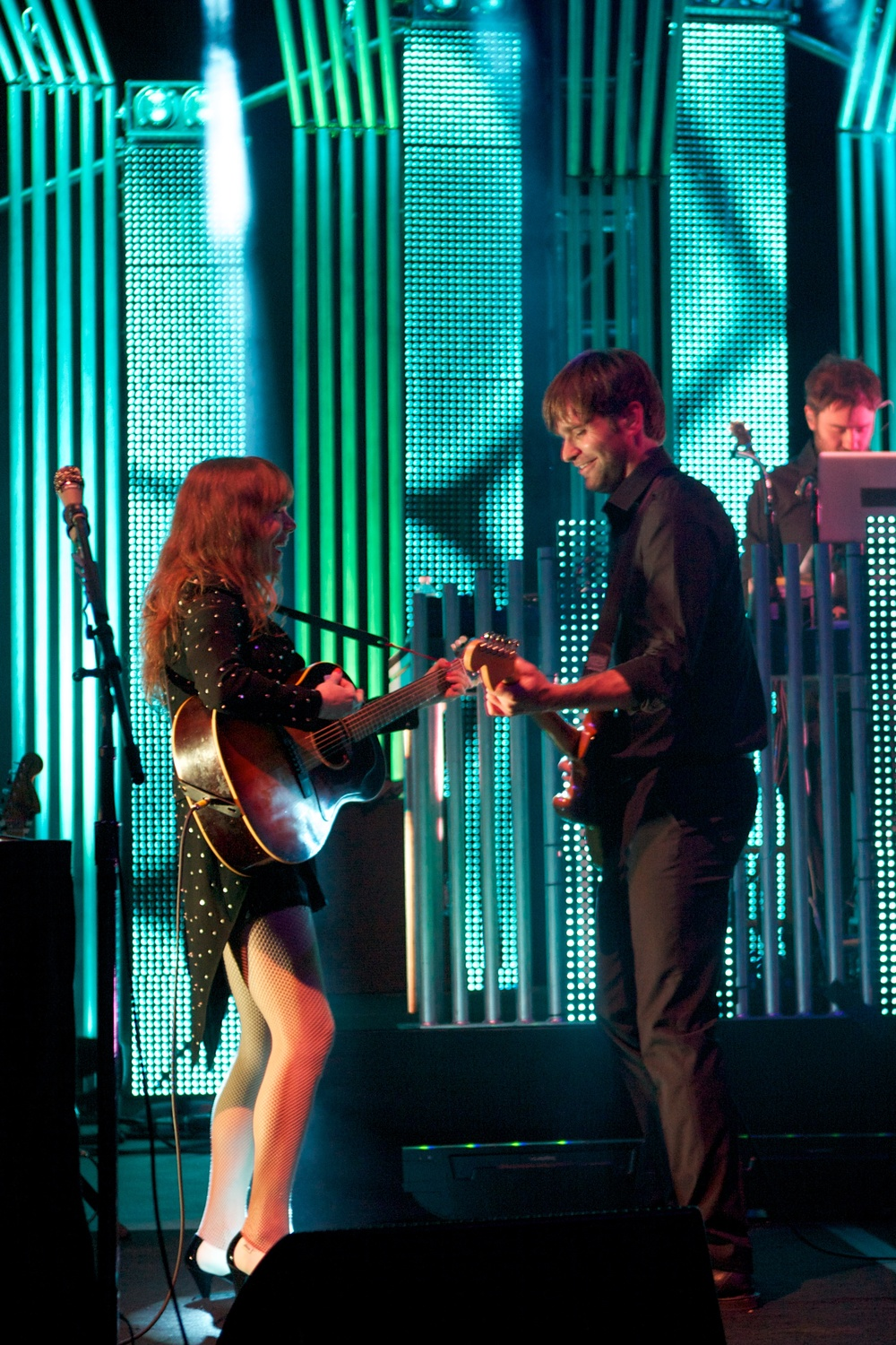 Jenny Lewis and Ben Gibbard (Photo Credit: Robert Castro)