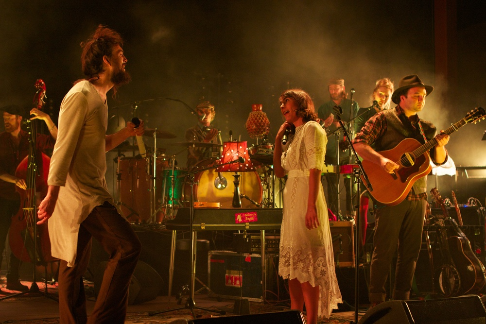 Edward Sharpe and The Magnetic Zeros (Photo Credit: Matt Smith)