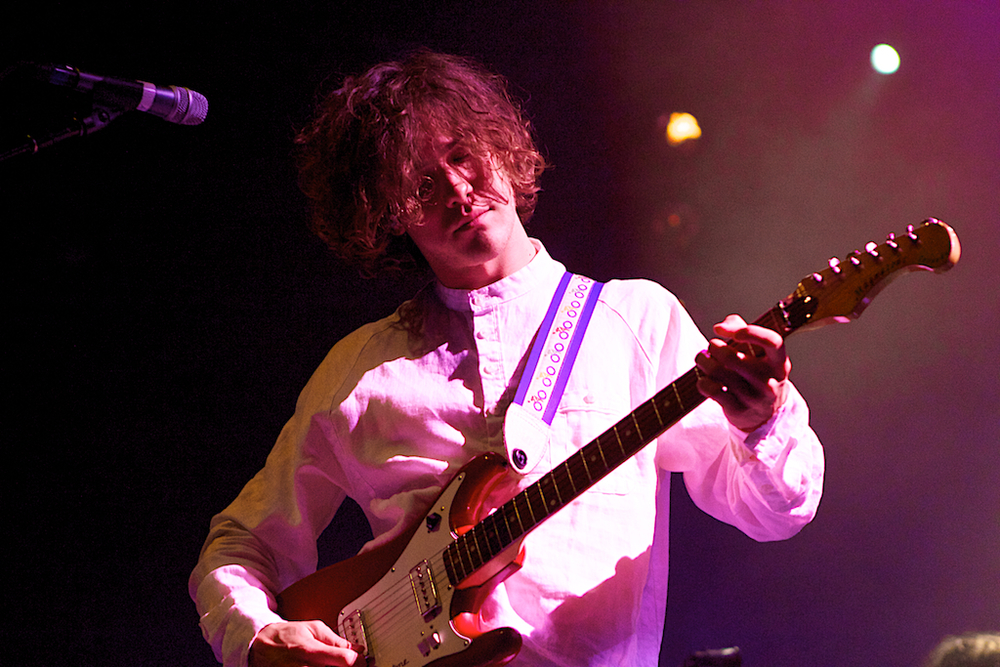 Andrew VanWyngarden of MGMT (Photo Credit: Robert Castro)