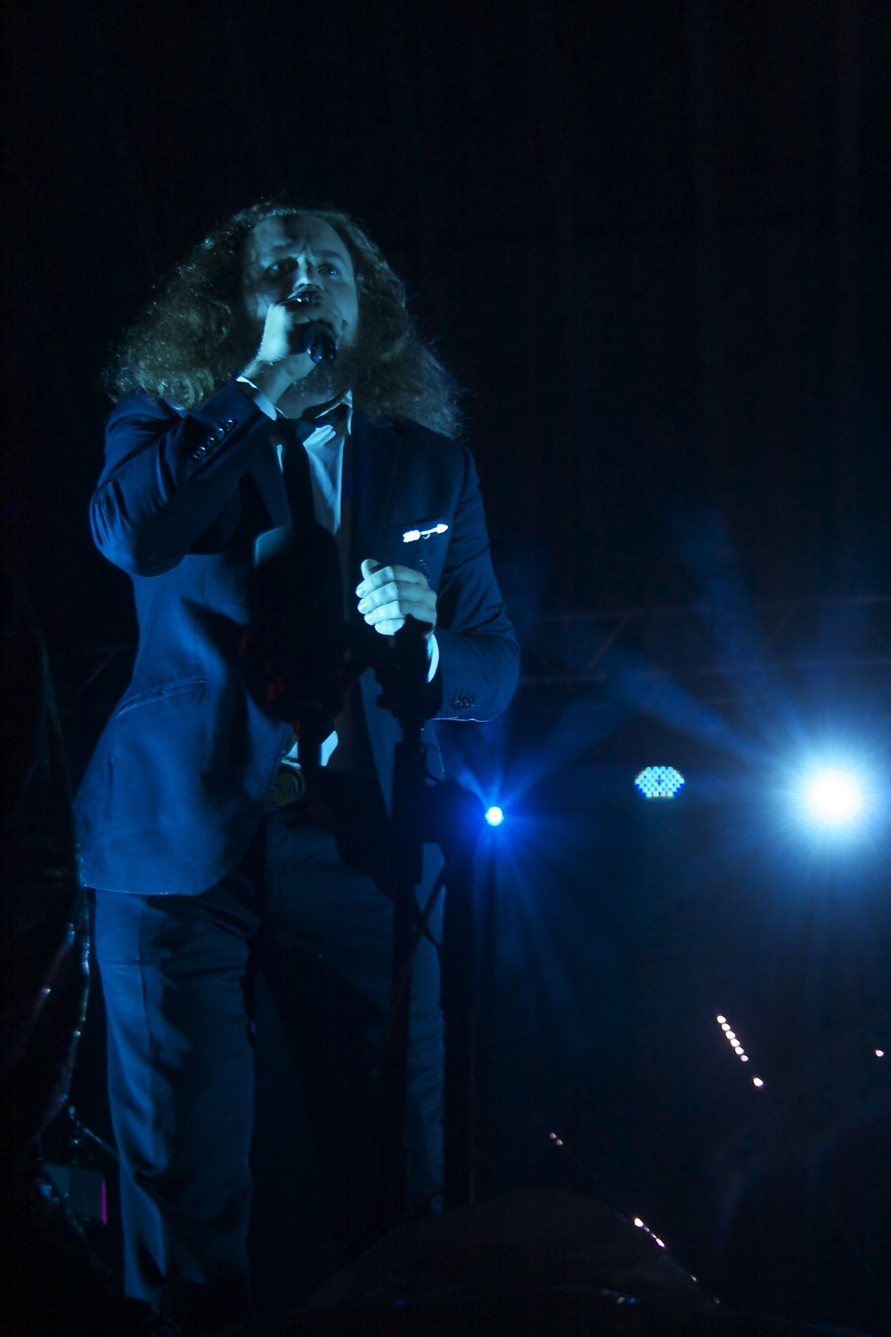 Jim James of My Morning Jacket Photo Credit: Amanda Spilos