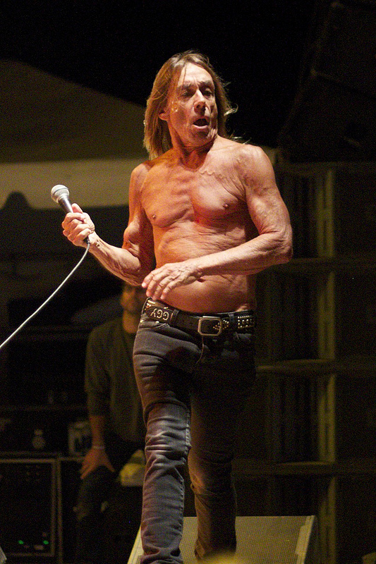 The legendary Iggy Pop (Photo Credit: Maddie Casey)