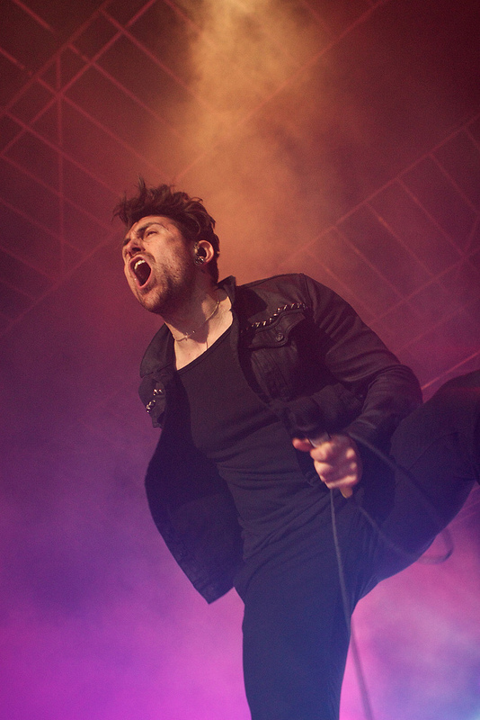 Davey Havok of AFI who put on one of the weekends best sets (Photo Credit: Matt Smith)