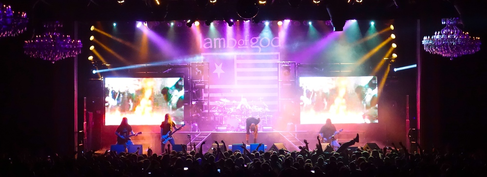 A packed house for Lamb of God (Photo Credit: David Burke)