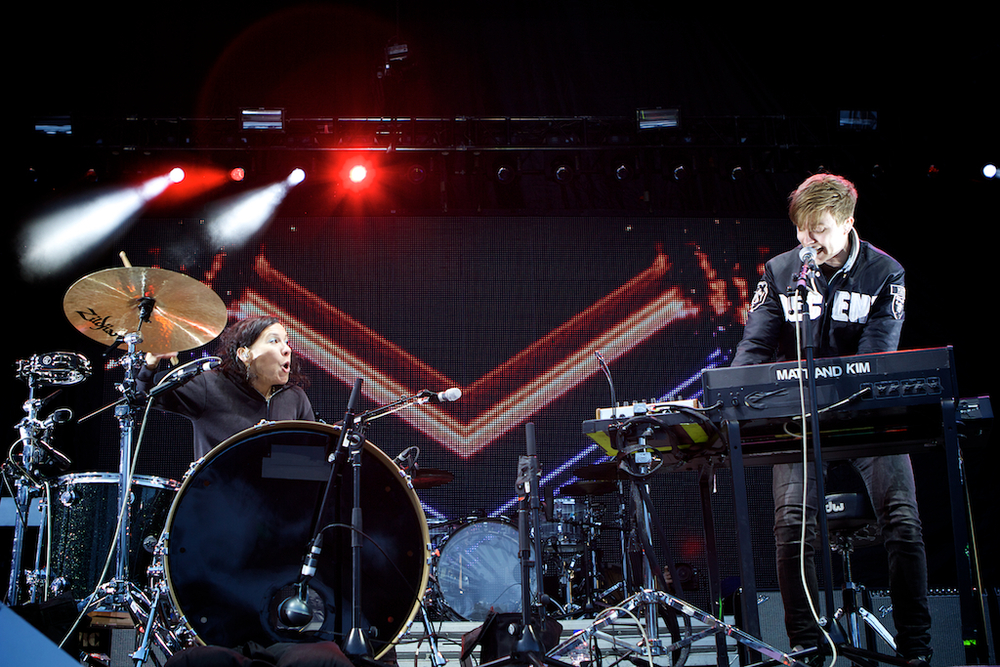 Matt and Kim (Photo Credit: Robert Castro)