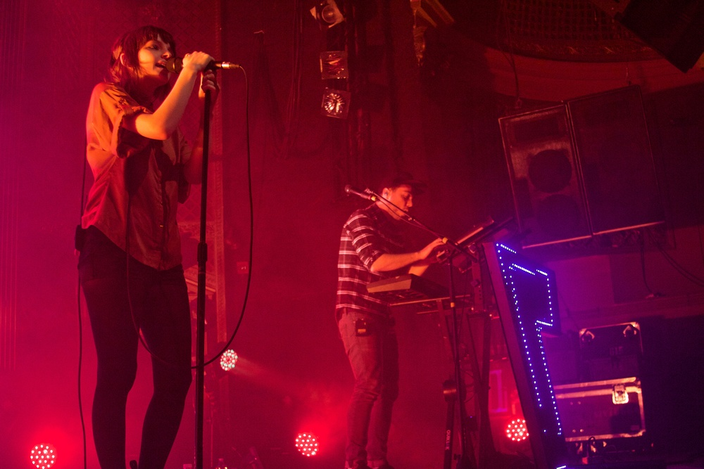 CHVRCHES (Photo Credit: Robert Castro)