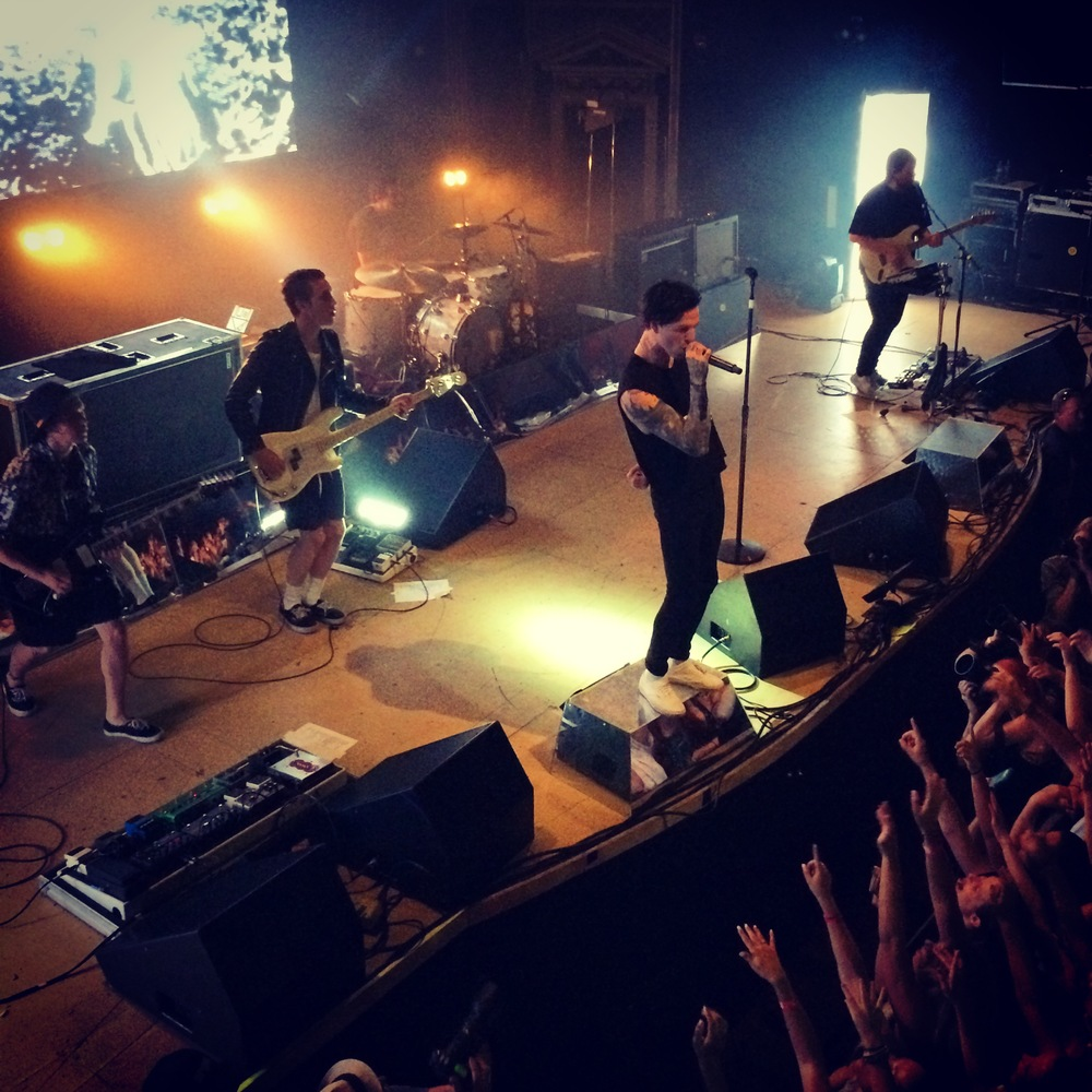 The Neighbourhood @ The Ogden Theatre (Photo Credit: McClain's iPhone)
